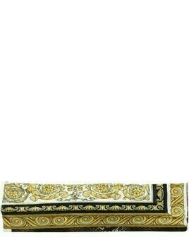 Baroque Print Cotton Jersey Headband