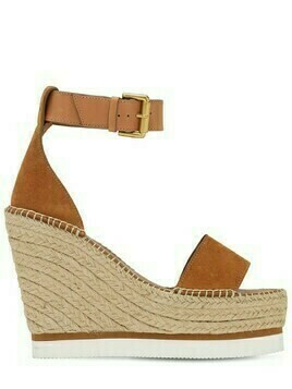120mm Glyn Suede Wedges