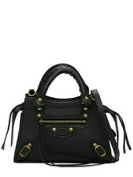 Mini Neo Classic Leather Top Handle Bag