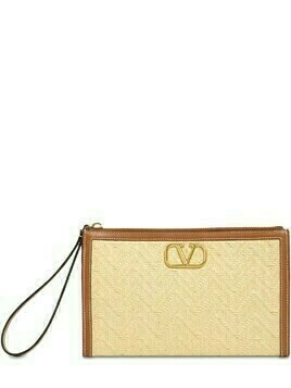 Vlogo Signature Straw Pouch