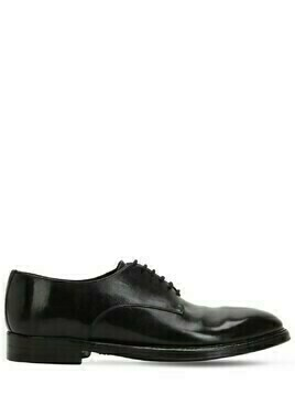 25mm Polished Horse Leather Derby Shoes