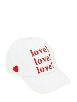 Lvr Exclusive Love Printed Gabardine Cap
