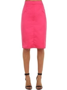 TECHNO DUCHESSE PENCIL SKIRT