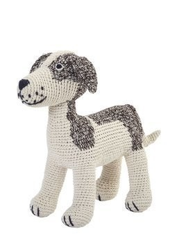 HAND-CROCHETED ORGANIC COTTON PUPPY