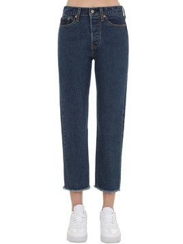 WEDGIE HIGHRISE STRAIGHT LEG DENIM JEANS