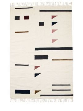 COLOR TRIANGLES KELIM RUG