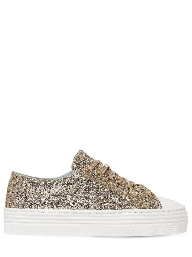 40MM FLIRTING EYE GLITTERED SNEAKERS