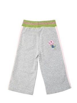 COTTON SWEATPANTS W/ SIDE BANDS