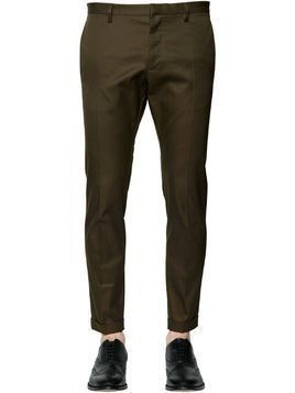TIDY COTTON TWILL PANTS