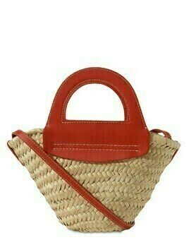 Mini Cabas Handwoven Straw Basket Bag