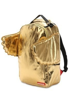 ALL GOLD WING NYLON CANVAS BACKPACK