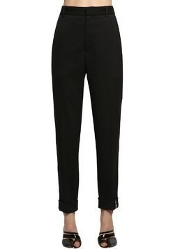 LIGHT STRETCH GABARDINE TAYLOR PANTS