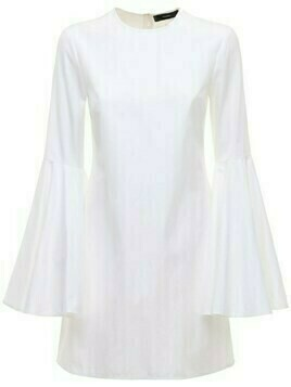 Dogma Poplin Mini Dress W/flared Sleeves