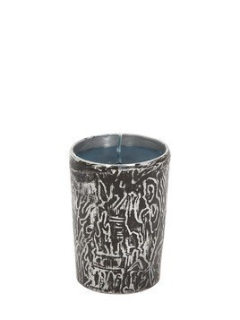 BURNING DOWN THE HOUSE METAL CANDLE