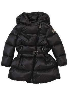 GELINOTTE NYLON DOWN COAT