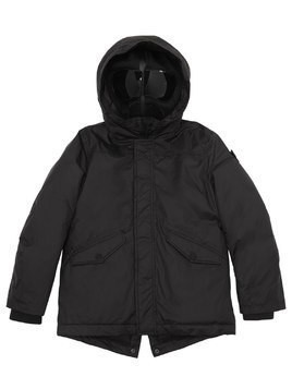 WATER RESISTANT NYLON DOWN JACKET