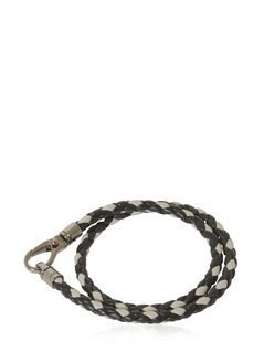 MY COLORS BRAIDED LEATHER BRACELET