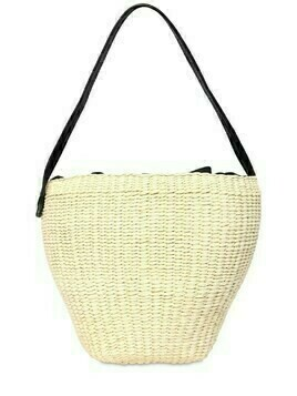 Medium Straw Shoulder Bag