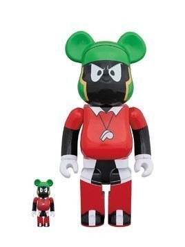 MARVIN THE MARTIAN 100%+400% BEARBRICKS