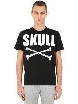 SKULL BONES COTTON T-SHIRT