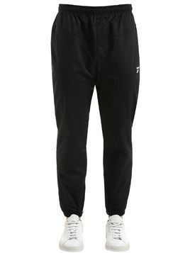 LOST&FOUND NYLON TRACK PANTS