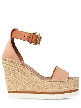120MM GLYNN SUEDE WEDGES