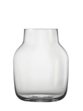 SILENT LARGE GLASS VASE