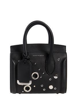 MINI LEATHER HEROINE BAG W/ EYELETS