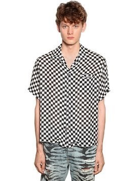 CHECKERED PRINT SHIRT