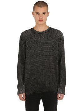 QUARTER CREW COTTON SWEATER