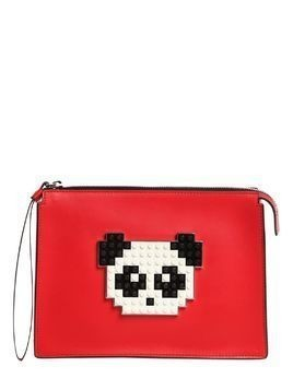PANDA LEATHER POUCH