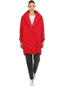 LOGO COCOON DOWN COAT