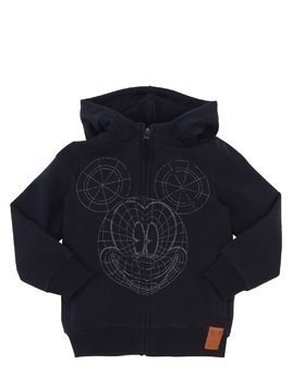 HOODED COTTON SWEATSHIRT HOODIE
