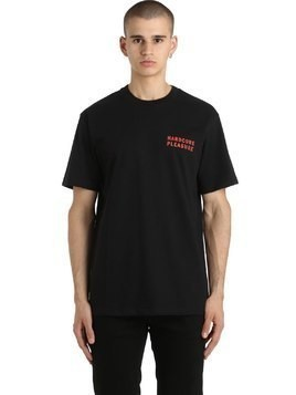 HARDCORE PLEASURE COTTON JERSEY T-SHIRT
