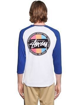 SURFMAN DOT TWO TONE JERSEY T-SHIRT