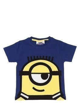 MINIONS PRINT COTTON JERSEY T-SHIRT