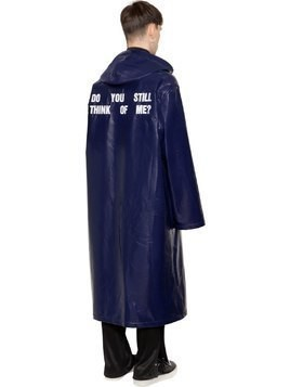 OVERSIZE DO YOU STILL SHINY RAINCOAT