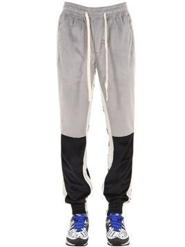 VARSITY VELOUR SWEATPANTS