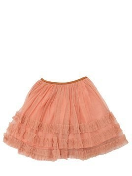 GLITTERED STRETCH TULLE SKIRT
