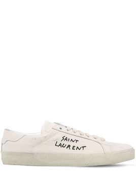 COURT CLASSIC COTTON CANVAS SNEAKERS