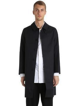 RUBBERIZED COTTON COAT