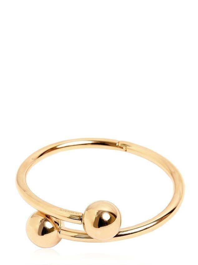 DOUBLE BALL BANGLE BRACELET