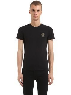MEDUSA PRINT COTTON JERSEY T-SHIRT