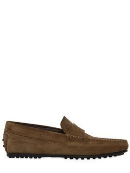 CITY GOMMINO SUEDE DRIVING SHOES