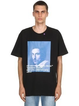 OVERSIZED BERNINI PRINT JERSEY T-SHIRT