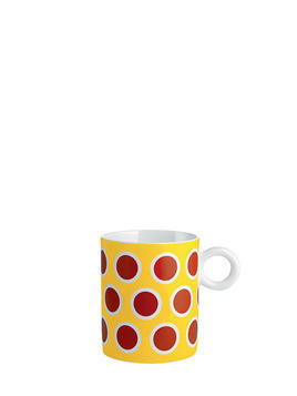 CIRCUS POLKA DOTS BONE CHINA MUG