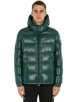 MAYA NYLON LAQUÉ DOWN JACKET