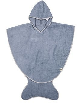 COTTON TERRYCLOTH BATH CAPE