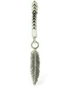 Feather Mono Hoop Earring