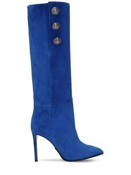 95MM JANE SLOUCHY SUEDE BOOTS